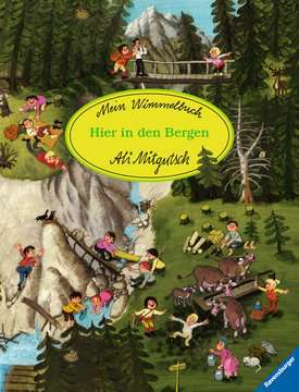 43489 Babybücher und Pappbilderbücher Mein Wimmelbuch: Hier in den Bergen von Ravensburger 1