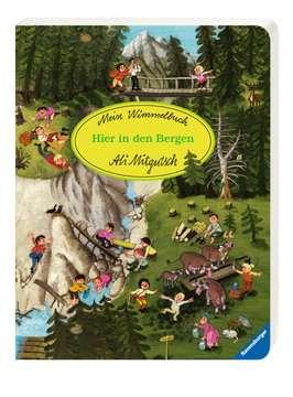 43489 Babybücher und Pappbilderbücher Mein Wimmelbuch: Hier in den Bergen von Ravensburger 2