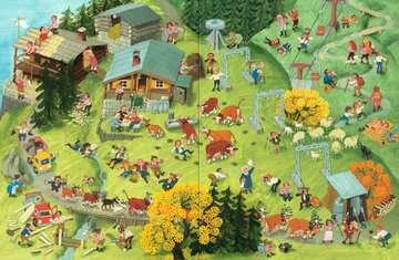 43489 Babybücher und Pappbilderbücher Mein Wimmelbuch: Hier in den Bergen von Ravensburger 4
