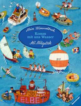 43490 Babybücher und Pappbilderbücher Mein Wimmelbuch: Komm mit ans Wasser von Ravensburger 1