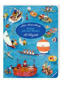 43490 Babybücher und Pappbilderbücher Mein Wimmelbuch: Komm mit ans Wasser von Ravensburger 2