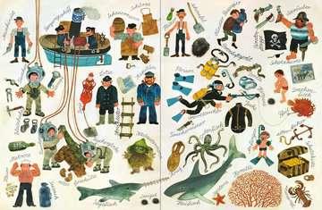 43490 Babybücher und Pappbilderbücher Mein Wimmelbuch: Komm mit ans Wasser von Ravensburger 3