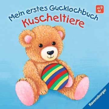 43493 Babybücher und Pappbilderbücher Mein erstes Gucklochbuch Kuscheltiere von Ravensburger 1