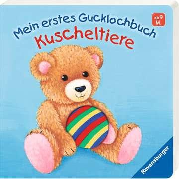 43493 Babybücher und Pappbilderbücher Mein erstes Gucklochbuch Kuscheltiere von Ravensburger 2