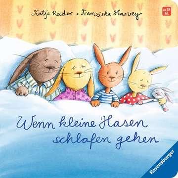 43503 Babybücher und Pappbilderbücher Wenn kleine Hasen schlafen gehen von Ravensburger 1