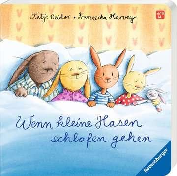 43503 Babybücher und Pappbilderbücher Wenn kleine Hasen schlafen gehen von Ravensburger 2