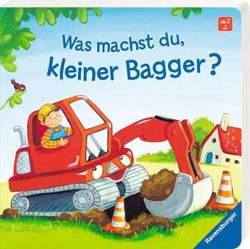 43526 Babybücher und Pappbilderbücher Was machst du, kleiner Bagger? von Ravensburger 2