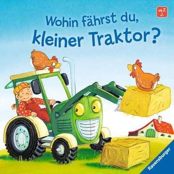 43527 Babybücher und Pappbilderbücher Wohin fährst du, kleiner Traktor? von Ravensburger 1