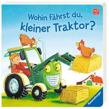 43527 Babybücher und Pappbilderbücher Wohin fährst du, kleiner Traktor? von Ravensburger 2