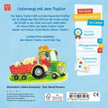 43527 Babybücher und Pappbilderbücher Wohin fährst du, kleiner Traktor? von Ravensburger 3