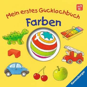 43547 Babybücher und Pappbilderbücher Mein erstes Gucklochbuch: Farben von Ravensburger 1