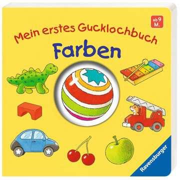 43547 Babybücher und Pappbilderbücher Mein erstes Gucklochbuch: Farben von Ravensburger 2