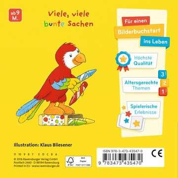 43547 Babybücher und Pappbilderbücher Mein erstes Gucklochbuch: Farben von Ravensburger 3
