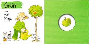 43547 Babybücher und Pappbilderbücher Mein erstes Gucklochbuch: Farben von Ravensburger 4