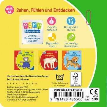 Mein erstes Buggy-Fühlbuch: Auf dem Bauernhof Kinderbücher;Babybücher und Pappbilderbücher - Bild 3 - Ravensburger