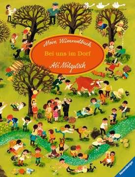 43555 Babybücher und Pappbilderbücher Mein Wimmelbuch: Bei uns im Dorf von Ravensburger 1