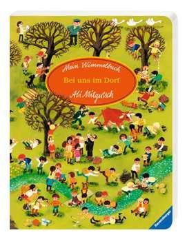 43555 Babybücher und Pappbilderbücher Mein Wimmelbuch: Bei uns im Dorf von Ravensburger 2