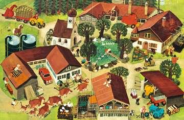 43555 Babybücher und Pappbilderbücher Mein Wimmelbuch: Bei uns im Dorf von Ravensburger 3