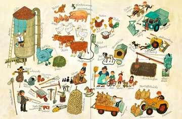 43555 Babybücher und Pappbilderbücher Mein Wimmelbuch: Bei uns im Dorf von Ravensburger 4