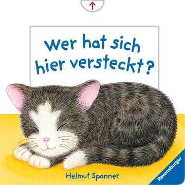 43558 Babybücher und Pappbilderbücher Wer hat sich hier versteckt? von Ravensburger 1