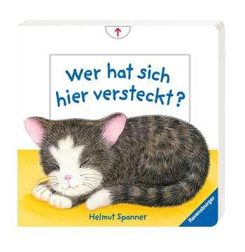 43558 Babybücher und Pappbilderbücher Wer hat sich hier versteckt? von Ravensburger 2