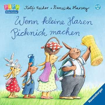 Wenn kleine Hasen Picknick machen Kinderbücher;Babybücher und Pappbilderbücher - Bild 1 - Ravensburger