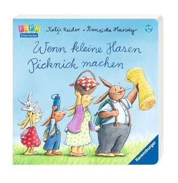 Wenn kleine Hasen Picknick machen Kinderbücher;Babybücher und Pappbilderbücher - Bild 2 - Ravensburger
