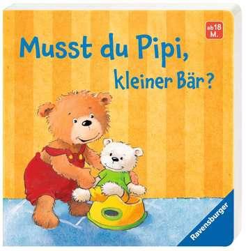 43564 Babybücher und Pappbilderbücher Musst du Pipi, kleiner Bär? von Ravensburger 2