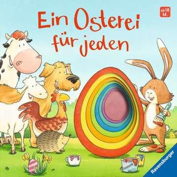 43570 Babybücher und Pappbilderbücher Ein Osterei für jeden von Ravensburger 1