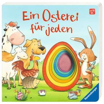 43570 Babybücher und Pappbilderbücher Ein Osterei für jeden von Ravensburger 2