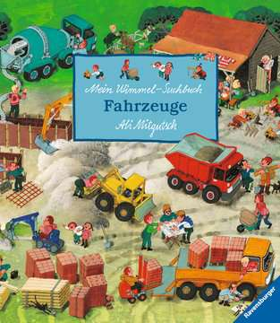 Mein Wimmel-Suchbuch Fahrzeuge Kinderbücher;Babybücher und Pappbilderbücher - Bild 1 - Ravensburger