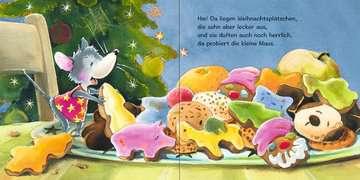 43594 Babybücher und Pappbilderbücher Die kleine Weihnachtsmaus von Ravensburger 4