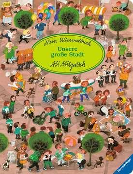 43599 Babybücher und Pappbilderbücher Mein Wimmelbuch: Unsere große Stadt von Ravensburger 1