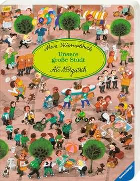 43599 Babybücher und Pappbilderbücher Mein Wimmelbuch: Unsere große Stadt von Ravensburger 2