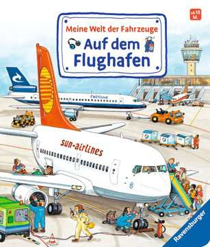 43612 Babybücher und Pappbilderbücher Meine Welt der Fahrzeuge: Auf dem Flughafen von Ravensburger 1