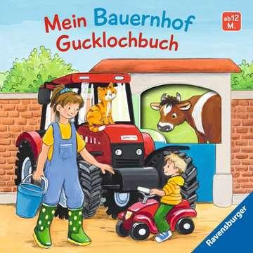43617 Babybücher und Pappbilderbücher Mein Bauernhof Gucklochbuch von Ravensburger 1
