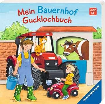 43617 Babybücher und Pappbilderbücher Mein Bauernhof Gucklochbuch von Ravensburger 2