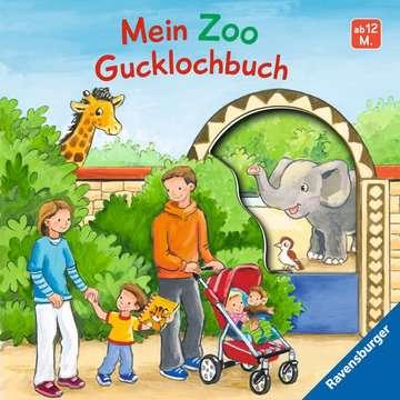 43620 Babybücher und Pappbilderbücher Mein Zoo Gucklochbuch von Ravensburger 1