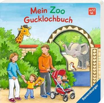 43620 Babybücher und Pappbilderbücher Mein Zoo Gucklochbuch von Ravensburger 2