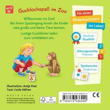 43620 Babybücher und Pappbilderbücher Mein Zoo Gucklochbuch von Ravensburger 3