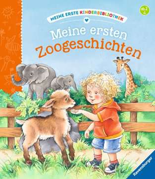 43628 Babybücher und Pappbilderbücher Meine ersten Zoogeschichten von Ravensburger 1