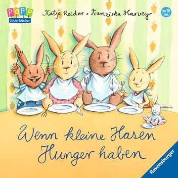 Wenn kleine Hasen Hunger haben Kinderbücher;Babybücher und Pappbilderbücher - Bild 1 - Ravensburger