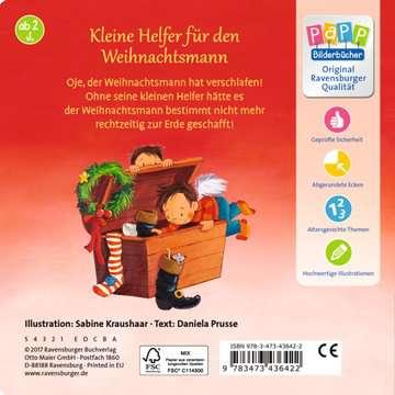 43642 Babybücher und Pappbilderbücher Wach auf, lieber Weihnachtsmann! von Ravensburger 3