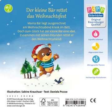 43644 Babybücher und Pappbilderbücher Ein Weihnachtsfest für Mama Bär von Ravensburger 3