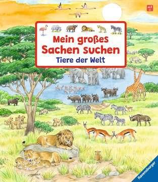 43647 Babybücher und Pappbilderbücher Mein großes Sachen suchen: Tiere der Welt von Ravensburger 1