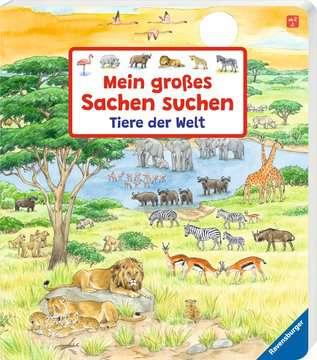 43647 Babybücher und Pappbilderbücher Mein großes Sachen suchen: Tiere der Welt von Ravensburger 2