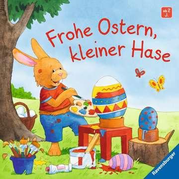 43681 Babybücher und Pappbilderbücher Frohe Ostern, kleiner Hase von Ravensburger 1