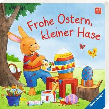 43681 Babybücher und Pappbilderbücher Frohe Ostern, kleiner Hase von Ravensburger 2