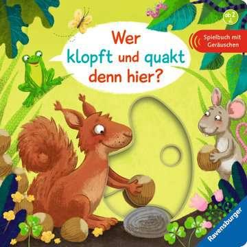 43683 Babybücher und Pappbilderbücher Wer klopft und quakt denn hier? von Ravensburger 1