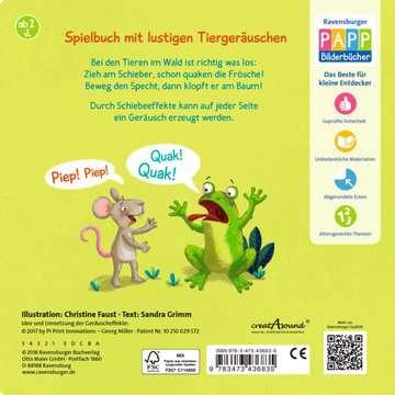 43683 Babybücher und Pappbilderbücher Wer klopft und quakt denn hier? von Ravensburger 7